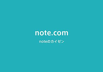 note.comにお引越しを計画しています|深津 貴之 (fladdict)|note
