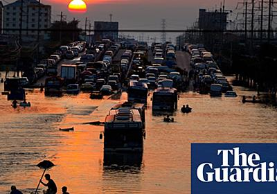 From London to Shanghai, world's sinking cities face devastating floods | Environment | The Guardian