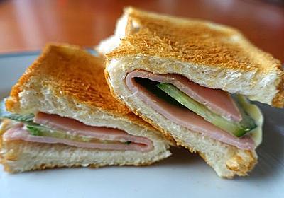 食パンは片面だけトーストすると外はカリっ、中はフワっ
