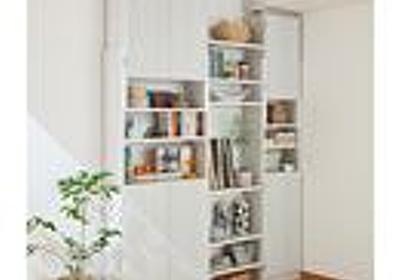 突っ張り書棚ラック 通販- セシール(cecile)