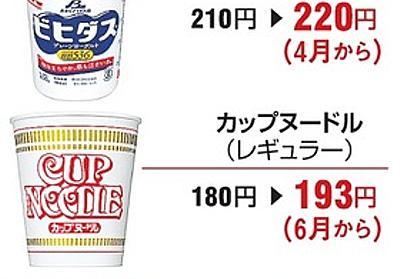 コーラ・牛乳・カップ麺…値上げ続々 理由は人件費高騰:朝日新聞デジタル