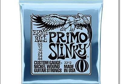 [Primo Slinky] アーニーボールから0095~ 044の弦が登場 | エレキギター情報TGR