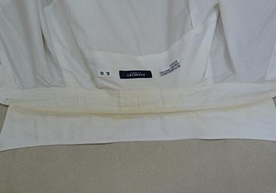 【ライフハック】1年放置したワイシャツ襟袖の黄ばみを瞬殺で白くする方法