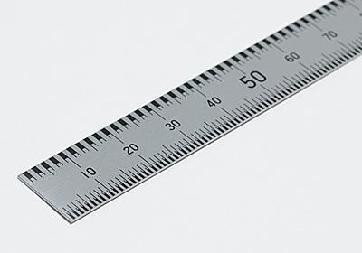"""コクヨが正確な1mmを測れる「本当の定規」全国発売 メモリの境界を""""面と面の間""""で計測 - ねとらぼ"""