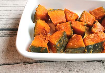 レンジでほくほく簡単に。かぼちゃのうま塩バター | つくりおき食堂