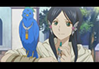 赤髪の白雪姫 第10話「心蒼く、もっと深く」 アニメ/動画 - ニコニコ動画