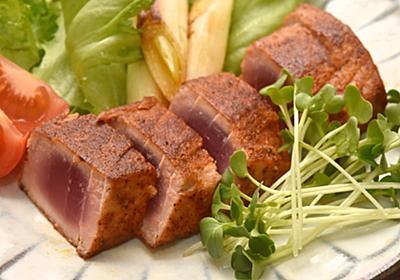 安く買ったマグロ刺身を「スパイス焼き」で外カリ中レアにアレンジしてみた【バリ猫ゆっきー】 - メシ通 | ホットペッパーグルメ