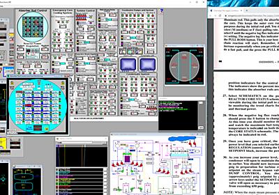RBMK-1000 MWe Simulator @ 2020-07-17|ossan|note