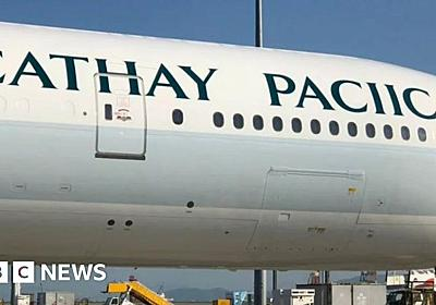 Cathay Pacific spells own name wrong on new plane - BBC News