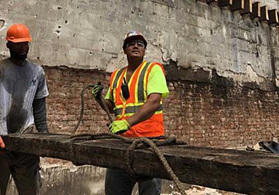 ビルの材木で500年以上前の気候を知る、米NYで進む取り組み