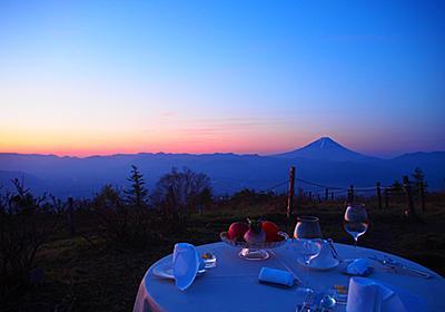 絶景!富士山を目の前に、感動の朝食を。星野リゾート リゾナーレ八ヶ岳「絶景朝食」 - じゃらんnet