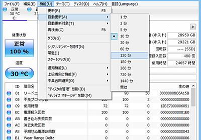 """Shizuku Edition""に新テーマが追加された「CrystalDiskInfo」v6.5.0が公開"