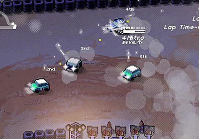2Dドットレーシング『Super Pixel Racers』海外向けに10月31日発売決定―天候の表現や自動生成コースも | Game*Spark - 国内・海外ゲーム情報サイト