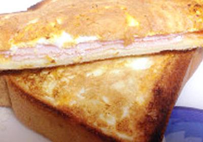 【食パン1枚で】フライパンで簡単に「ホットサンド」が作れた!   クックパッドニュース