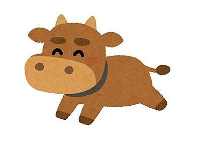 牛たちのおもちゃにされていた子猫、成長すると牛たちからリスペクトされる存在に:らばQ