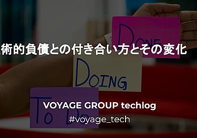 術的負債との付き合い方とその変化 - VOYAGE GROUP techlog