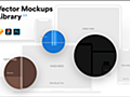 商用でも完全無料!Webサイトやスマホアプリをプレゼンで魅せるためのベクター素材 -Vector Mockups Library | コリス