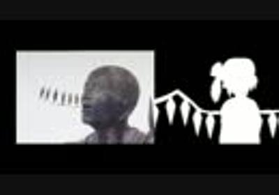【東方】仏像・銅像たちのBad Apple!! PV【影絵】[比較単品]あと微修正