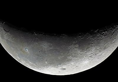 NASAが「月面の太陽光が当たる部分に水を確認した」と発表 - GIGAZINE