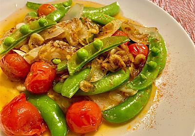 春レシピ「あみ海老と春野菜のオイル焼き」の作り方 - シェフガッキーの料理ブログ!