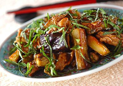 豚肉とナスのオイスター炒め【E・レシピ】料理のプロが作る簡単レシピ/2011.09.29公開のレシピです。
