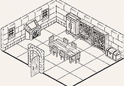 手描き風の美しいダンジョンマップを描けるソフト「Dungeon Builder」が登場。描いたマップでテーブルトークRPGをプレイできる - 4Gamer.net
