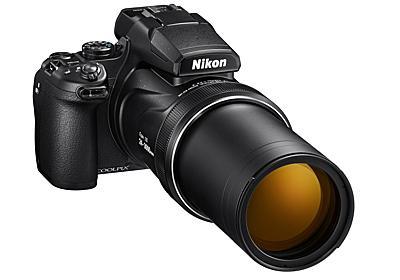 ニコン、望遠端3000mm相当の125倍ズーム機「COOLPIX P1000」海外発表 - デジカメ Watch