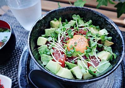 *お家ランチにハワイのアヒポキ丼を食べる* - Xin Chao HANOI♥