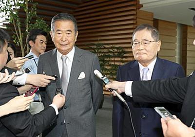首相が石原元都知事と面会 北朝鮮、改憲で意見交換 - 産経ニュース