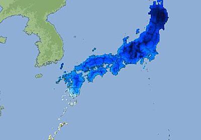 【最強寒波】北海道がもはや生きれるような色ではない…「闇堕ちしてる」「すでに魔界になってんぞ」 - Togetter