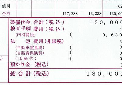 軽自動車に軽油を入れて修理費用136,480円請求された話|給油間違い | BLOG