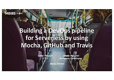Whim and Serverless DevOps with Mocha, Github and Travis