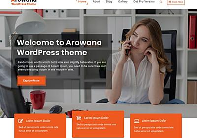 Arowana – WordPress Theme Review