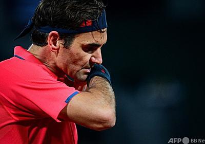 フェデラー、全仏4回戦棄権を示唆「プレーするかは分からない」 写真5枚 国際ニュース:AFPBB News