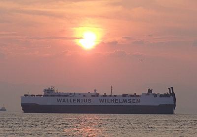 Wallenius Lineの自動車運搬船 FAUST - SHIPS OF THE PORT