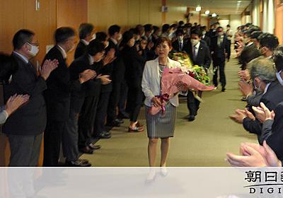 文科省職員100人超、副大臣らを深夜出迎え「非常識」:朝日新聞デジタル