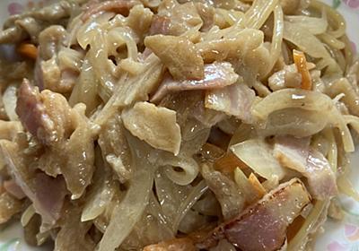 残った切り干し大根の煮物は パスタですね - 料理好き人間が書くブログ