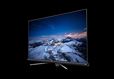 フレームレスで超うっす! 中国の大手TCL、コスパ良な4K TVを引っさげて日本に上陸! | ギズモード・ジャパン