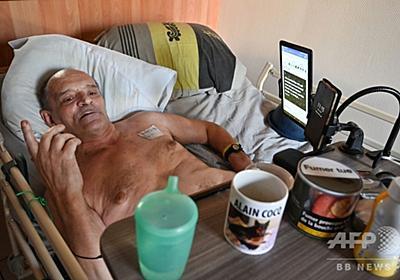 仏男性の「死の生配信」、フェイスブックが差し止め 写真1枚 国際ニュース:AFPBB News