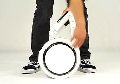 リュックにスッポリ入る本当のポータブル電動自転車「Impossible」 - GIGAZINE