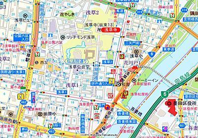 水曜インタビュー劇場(地図公演):なぜ地図で「浅草寺」を真ん中にしてはいけないのか (1/6) - ITmedia ビジネスオンライン