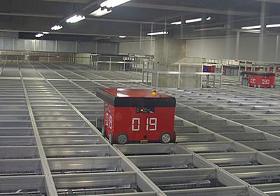 ニトリのロボット倉庫に潜入:日経ビジネスオンライン