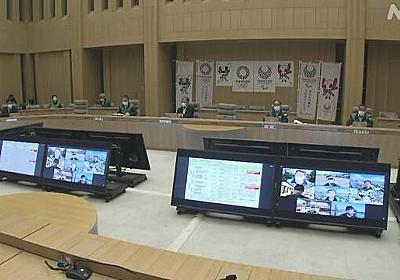 """東京都のモニタリング会議 """"感染再拡大の予兆が見られる""""   新型コロナウイルス   NHKニュース"""