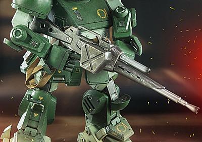 キリコも愛用 「装甲騎兵ボトムズ」のスコープドッグが超絶クオリティーのアクションフィギュアに - ねとらぼ
