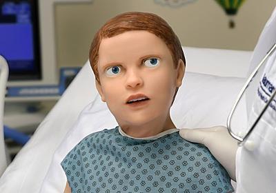 血も涙もある。喋って痛がる不気味の谷な小児科患者シミュレーター・ロボット「HAL」 | ギズモード・ジャパン