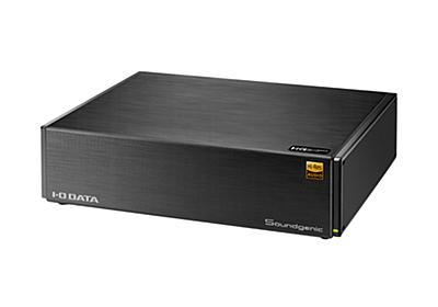 アイ・オー、オーディオNAS「Soundgenic」の上位モデル。3TB HDD搭載、約5.5万円 - PHILE WEB