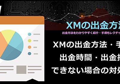 XMの出金方法・手数料・出金時間・拒否・できない場合の対処方法