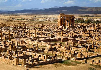 砂漠から丸ごと姿を現したローマ帝国の古代都市 | ナショナルジオグラフィック日本版サイト