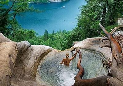 ドイツの滝に密かに存在する、絶景を見渡せるプールがすごい【動画】 – Switch News(スウィッチ・ニュース)