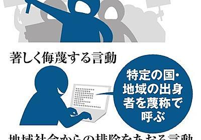 ヘイトスピーチ、事前規制 川崎が初指針、施設不許可も:朝日新聞デジタル